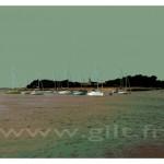 Gilt Paysages Mer N°: M09