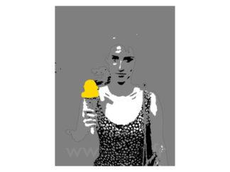 Femme et la Gélatina Gilt Personnages N°: PER01