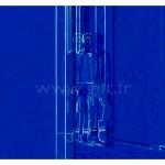 Femme - Fond bleu Gilt Personnages N°: PER04