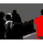 Femme - Veste rouge Gilt Personnages N°: PER02