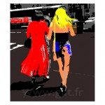 Femmes - New-York Gilt Personnages N°: PER12
