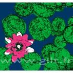 Fleur de Nénuphar Gilt Fleurs et Plantes N°: FP05