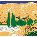 La Montagne Sainte-Victoire Gilt Fleurs et Plantes N°: FP09