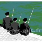 Les 3 pêcheurs Gilt Paysages Urbains N°: PU04