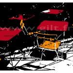 Les Chaises Gilt Paysages Urbains N°: PU20