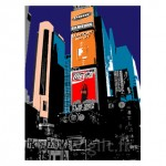 New-York - Times Square Gilt Paysages Urbains N°: PU10