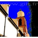 Saint-Tropez - L'église Notre-Dame-de-l'Assomption Gilt Paysages Urbains N°: PU17