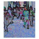 Visiteurs dans exposition Gilt Personnages N°: PER17