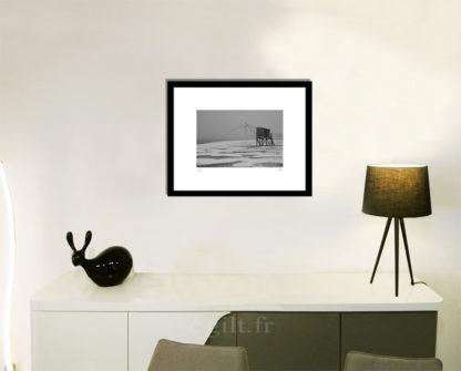 Décoration d'intérieur - séjour - meuble, lampe et sculpture avec Estampe d'Art Gilt - Mer M40
