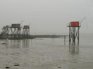 La Pêcherie Rouge - Côte de Jade - Gilt réf.: M12 - Thème Mer - Estampe