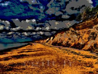 Gilt réf.: M36 - Thème Mer - Estampe