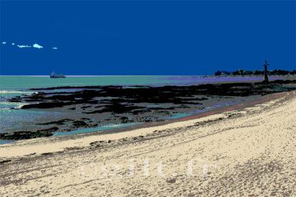 Gilt réf.: M37 - Thème Mer - Estampe