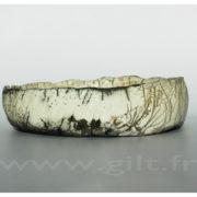 Gilt : Céramique Contemporaine - Terres enfumées et Techniques mixtes Pot en Raku - Gilt Artiste